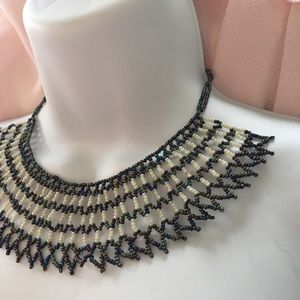 Jewelry - Hand Beaded Collar Necklace